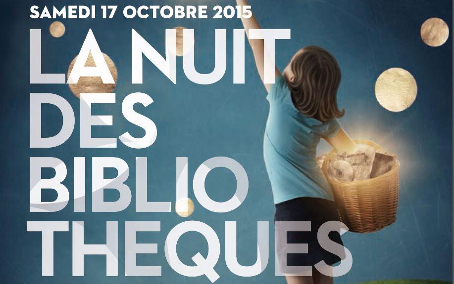 Nuit des Bibliothèques 2015