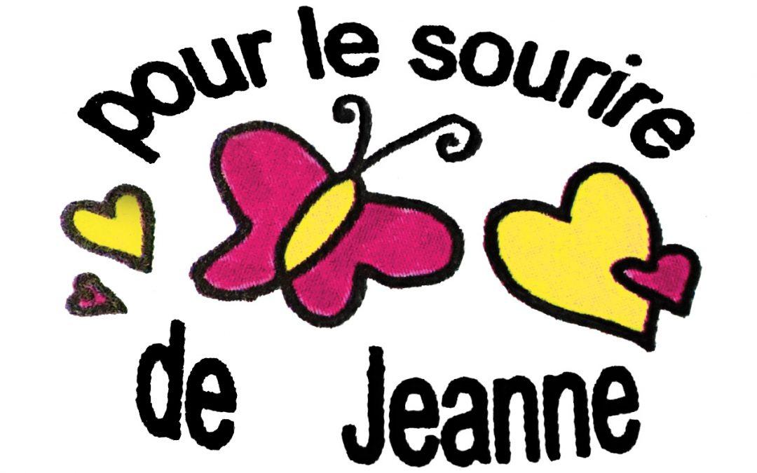 Pour le sourire de Jeanne